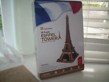 Eiffel Tower 3D Puzzle by CubicFun NEW
