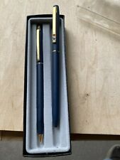 Vintage Chromatic Pen And Pencil Set In Protective Box Usa