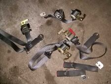 ford mustang 4.6 complete set seat belts 1999