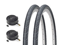 "(Pair of) KENDA 27.5"" 650b Puncture Resistant Mountain Road Tyres & Inner Tubes"