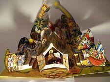 BIG Bethlehem Vojtech Kubasta Vojtěch  Kubašta Betlém nativity scene Pop up Xmas