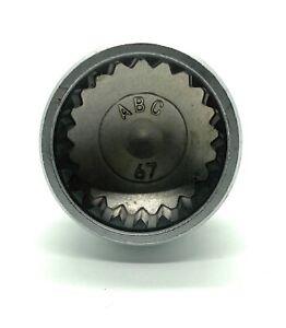 Porsche Wheel Lock Key -- 21 splines / ABC 67 -- 23mm diameter -- FAST SHIPPING!