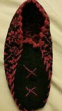 Hanknitted wool thick warm winter Women Socks Slippers Patik Shoe Size 6 7