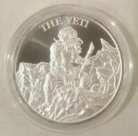 1oz Legendary Yeti .999 Fine Silver Round Coin Abominable Snowman Meh-Teh