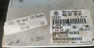 1998-1999 Audi A8 Quatro transmission control module computer 4D0 927 156 BH
