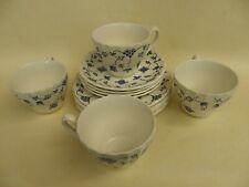 Myott Finlandia Tea Cup Saucer & Side Plate Trio Set of 4.