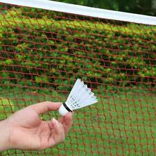 Red Nylon Badminton Tennis Volleyball Net Mesh For Beach Indoor Outdoor Games