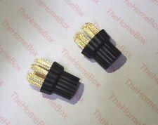 Conjunto de 2 Cepillos Metálicos Compatible con X5 H20 Vapor trapeadores