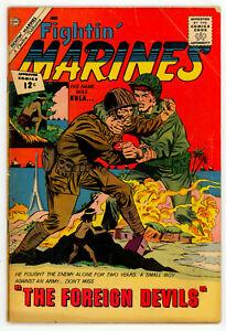 JERRY WEIST ESTATE: FIGHTIN' MARINES #34 & 47 (Charlton 1960-62) NO RES