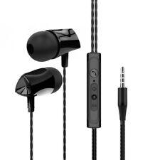 ERGONOMIC HEAVY BASS IN-EAR WIRED EARPHONES VOLUME CONTROL HEADPHONE WITH MIC