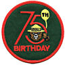 ⫸ S9 Smokey Bear 75th Birthday Patch Forest Service Embroidered Patch NEW in bag