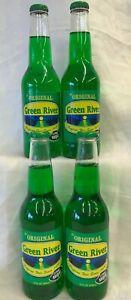 Green River Soda 12 oz Caffeine Free Lot of 4 Free Shipping.