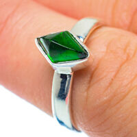 Chrome Diopside 925 Sterling Silver Ring Size 7 Ana Co Jewelry R36248F