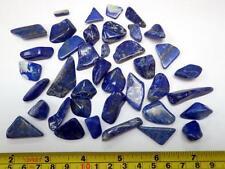 Tumbled Nice Blue Lapis Lazuli Stone 104.6 gram Lot (39 small pcs 0.1 to 5.5 g)