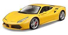 BBURAGO 1:24 DISPLAY FERRARI RACE & PLAY FERRARI 488 GTB DIECAST CAR 26513