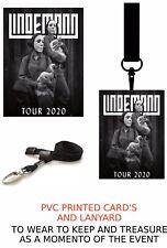 Lindemann Tour 2020  PVC LANYARD PASS VIP  LANYARD