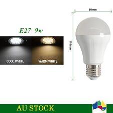 5 x AC 230V E27 LED 9W Globe Bulb TJ-A60 Light Lamp