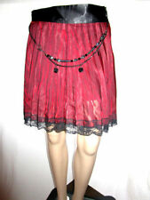 Goth Polyester Vintage Skirts for Women