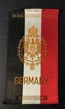 Vintage c1910 Germany Coat of Arms Cigarette Silk