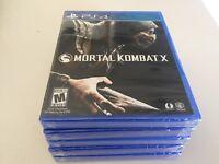 Mortal Kombat X (Sony PlayStation 4, 2015) NEW