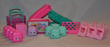 NEW! Shopkins Bags Baskets Cases HUGE LOT! Carrying (FAST SHIPPING!!)