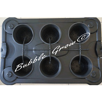 Bubble Grow 6 X Drip Hydroponic System Top Feed Bubbleponic DWC NTF Growing Kit