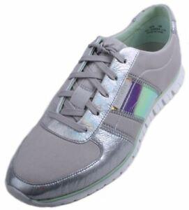 Cole Haan ZeroGrand Women's Vapor Grey/Iridescent Casual Sneakers