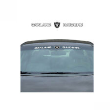 Team ProMark NFL Oakland Raiders Car Truck Suv Windshield Decal Sticker