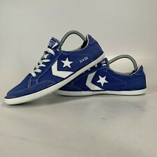 Converse All Star Mens Unisex Lo Low Top Trainers Light Blue - Size UK 7.5 EU 42