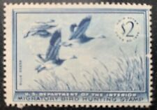 RW22 1955 US Duck Stamp Unsigned MNG