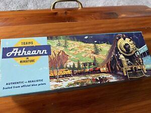 Athearn Vintage HO Scale Blue Great Northern Diesel Locomotive 3602 Original Box