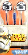 NEU STAR WARS R2-D2 KOPFHÖRER OHRHÖRER In Ear R2D2 Headphones Handy Audio Disney