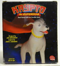 KRYPTO The SUPERDOG Hand Painted Ltd Ed STATUE #1124/1500 DC Direct 2002