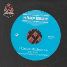 Flor De Tabaco: Ladrona De Amor PROMO w/ Artwork MUSIC AUDIO CD 1 track Latin