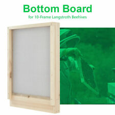 Wooden Cedar Bottom Board 22x16 Inch for 10 Langstroth Frames Beehive Equipment
