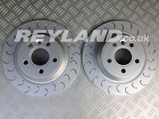 Focus RS MK2 Rear Grooved Discs