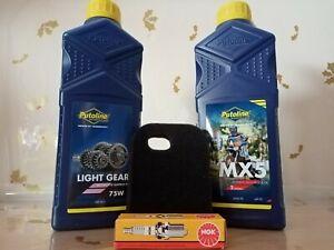 Yamaha PW50 PY50 Service Kit Engine 2 Stroke Oil Spark Plug  Air Filter