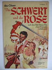 """Micky Maus Sonderheft """"Das Schwert und die Rose"""", original, Ehapa, Zustand 2"""