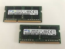 16GB 2x 8GB Samsung PC3L-12800S 204 Pin DDR3 1600MHz Laptop Memory