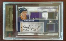 2011/12 Marcel Dionne ITG jersey, skate, pants, auto! 2/9