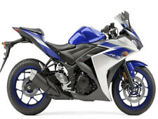 Fairing Blue White Injection Fit for Yamaha 2014 2015 2016 R3/R25 Set k004