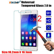 2Pcs Universal 7 inch Tablet Genuine Tempered Glass Guard Screen Protector Film