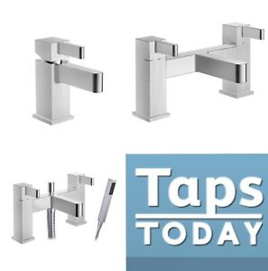 Virgo Bathroom Tap Set, Basin Mixer Tap, Bath Filler Tap, Bath Shower Mixer Tap