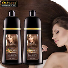 Permanent Hair Color Shampoo Natural Mokeru Professional Hair Dye Long Lasting