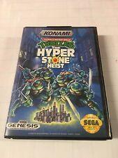 Teenage Mutant Ninja Turtles: Hyperstone Heist TMNT Sega Genesis CIB Complete