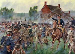 Maritato Signed Revolutionary War Limited Edition Art Print Battle of Brooklyn