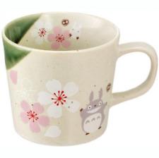 Studio Ghibli My Neighbor Totoro Mug Cherry Blossom Mino Ware CHMM1 Japan NEW