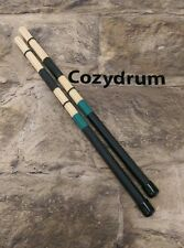 PRO HOT ROD DRUM STICKS..CUSTOM..BLACK/GREEN
