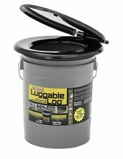 Reliance Products Luggable Loo Portable Lightweight 5 Gallon Toilet, Gray NEW