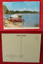 Vintage Australian Postcard. Lake Fellmongery, Robe